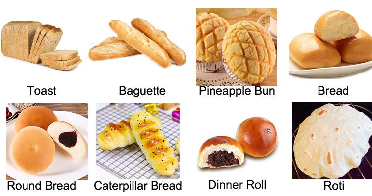 Applications of Automatic French Baguette Bread Making Machine