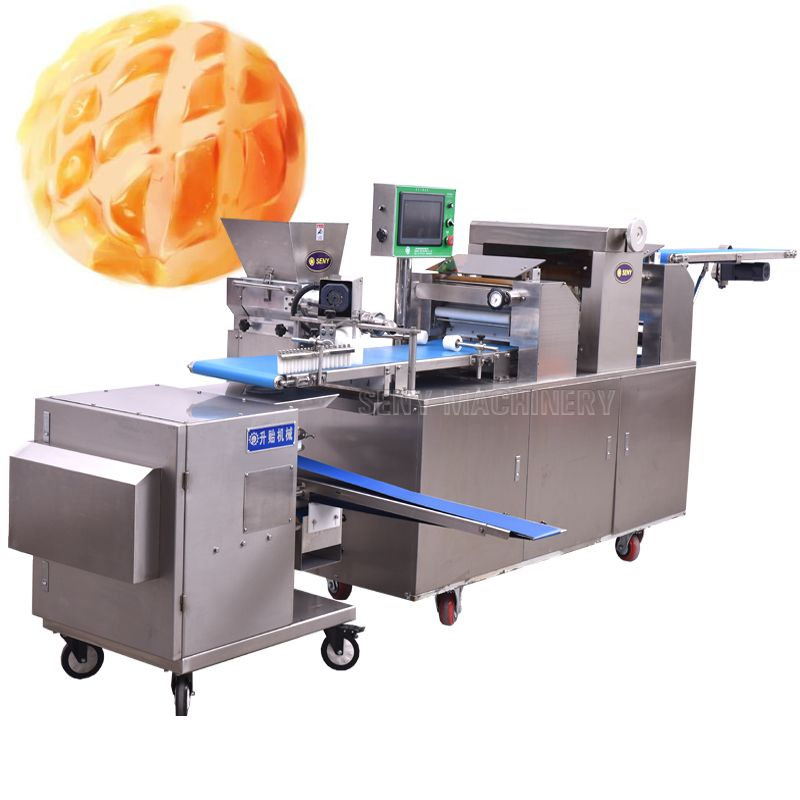 SY-860 Automatic Pineapple Cake Bread Making Machine Production Line