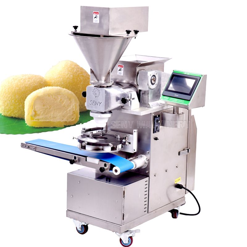 Automatic Mochi Making Encrusting Machine
