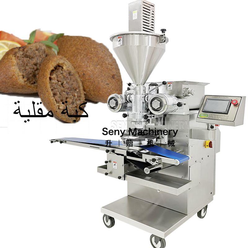 Frozen Automatic Encrusting Machine Kubba Kebbe Kebbeh Maker Kibbe Kibbeh Making Machine